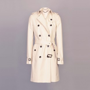 Alexa Trench Coat Front