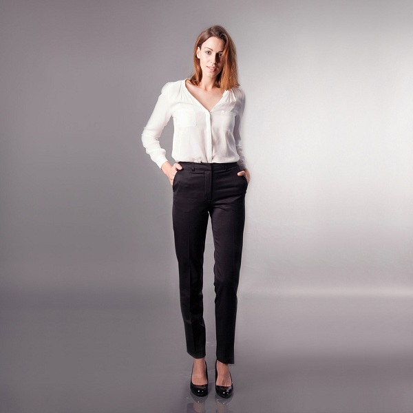 The Hepburn Trouser | The Tall Tailored Trouser