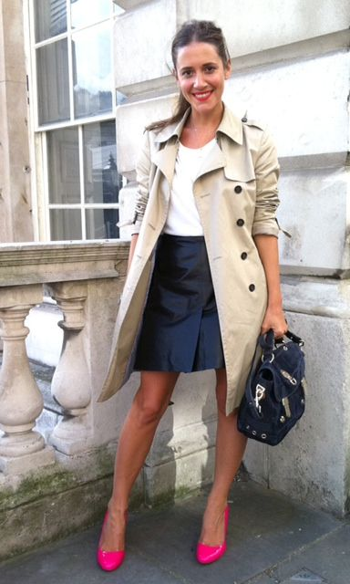 Wearing It Today Blogger Laura Fantacci Trench Coat